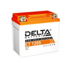 12в  5А DELTA СТ 1205 (YT5L-BS)