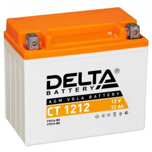 12в 12А DELTA CT 1212 (YTX14-BS)