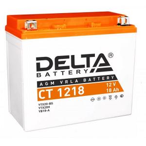 12в 18А DELTA CT 1218(YTX20-BS)