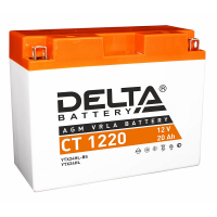 12в 20А DELTA CT 1220(YTX24HL-BS)