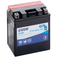 12в 12А EXIDE AGM (ETX14AHL-BS)